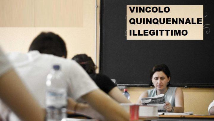 ILLEGITTIMO IL VINCOLO QUINQUENNALE SUL SOSTEGNO:Altra vittoria dal Tribunale di Roma. Al via i nuovi ricorsi