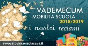 MOBILITA' DOCENTI 2018/2019; ECCO I  NOSTRI RECLAMI .